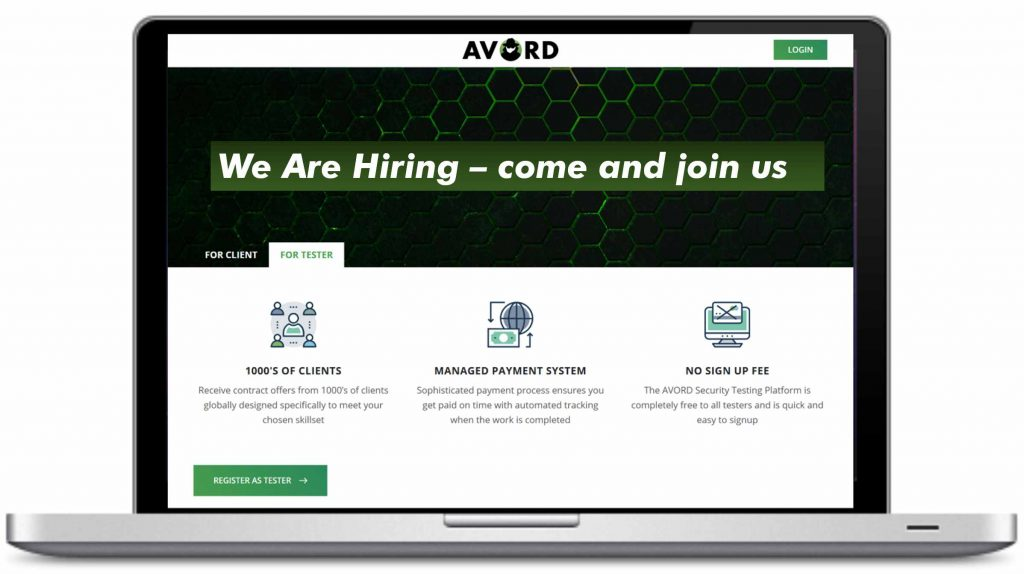AVORD - We are HIRING