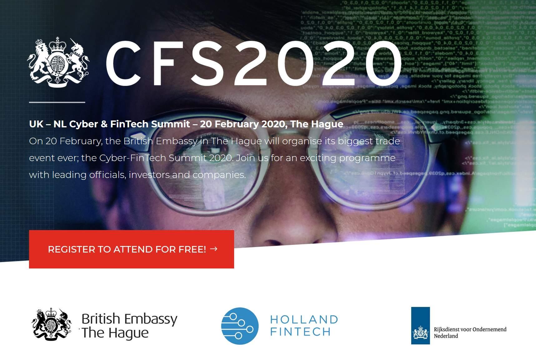 CFS2020 UK - NL Fintech Summit