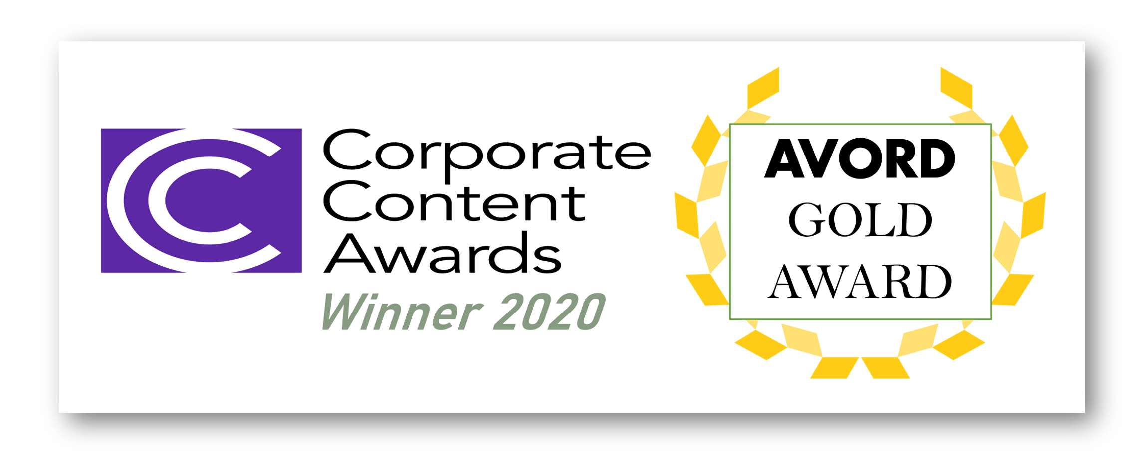 AVORD Wins Corporate Content Awards